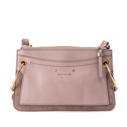 Rent Chloe Motty Grey Calf Suede Leatherbag