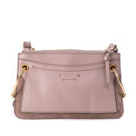 Rent Chloe Motty Grey Calf Suede Leatherbag