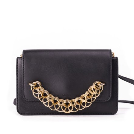 VieTrendy-Chloe-Shoulder-Bag-Black-Front