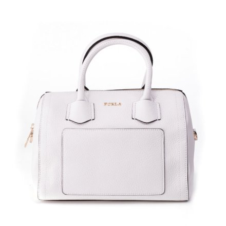 Furla White Alba bag from Vie trendy
