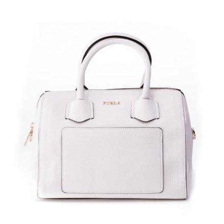 Furla White Alba bag from Vie trendy