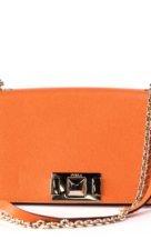 Orange Furla Mimi bag