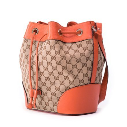 VieTrendy-Gucci-Classic-Bucket-Bag-Orange-Side