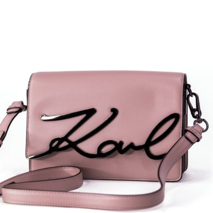 VieTrendy-Karl-Lagerfeld-K-Signature-ShoulderBag-Powder-Pink-Front