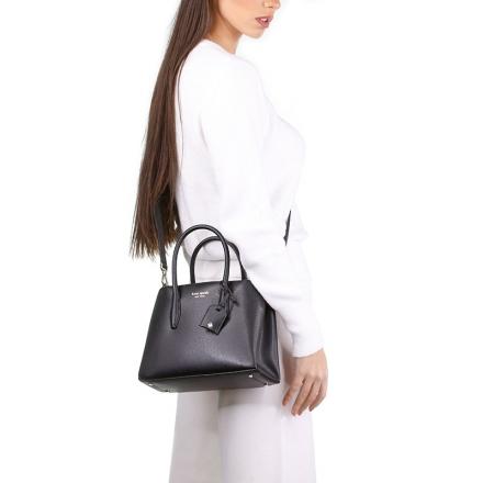 VieTrendy-Kate-Spade-Eva-Small-Satchel-Black-with-Model