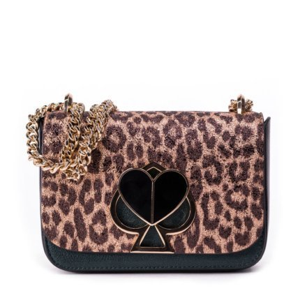 VieTrendy-Kate Spade-Nicola-Metallic-Leopard-Twistlock-Small-Convertible-Chain-Front
