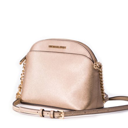 VieTrendy-Michael-Kors-Emmy-Saffiano-Medium-Cross body-Pale-Gold-Side