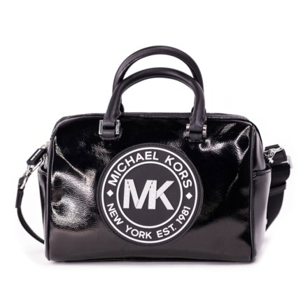 VieTrendy-Michael-Kors-Travel-Medium-Logo-Black-Front