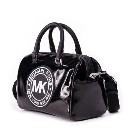 VieTrendy-Michael-Kors-Travel-Medium-Logo-Black-Silver