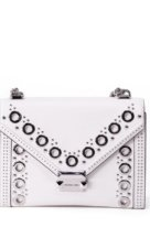 VieTrendy-Michael-Kors-Whitney-White-Leather-Shoulder-Bag-Front