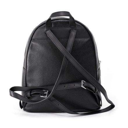 VieTrendy-Michael-Kors-Womens-Medium-Travel-School-Sport-Backpack-Bag-Black-Silver-Leather-Back