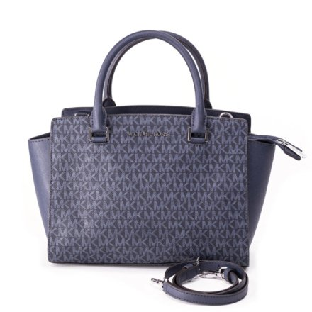 VieTrendy-Michael-Kors-Womens-Satchel-Admir-Blue-Front