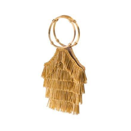 Flapper Gold Sarahs Bag for rent
