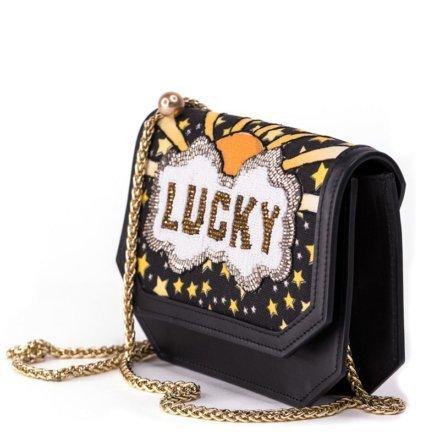 VieTrendy-Sarahs-Bag-Lucky-Gold-Shoulder Bag-Side