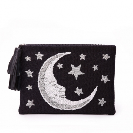 VieTrendy-Sarahs-Bag-Moon-Night-Pouch-Front