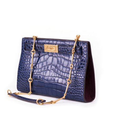VieTrendy-Tory-Burch-Lee-Radziwill-Small-Bag-Blue-Side