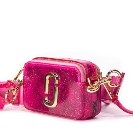 A funky pink Marc Jacobs bag with Gold tone hardware