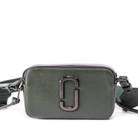 Marc Jacobs The Snapshot Monochrome Green crossbody bag